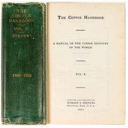 The Copper Handbook- Volume X- 1910-1911