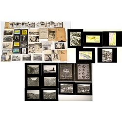 Slides and Prints by Professor Paul S Kerr of Columbia University