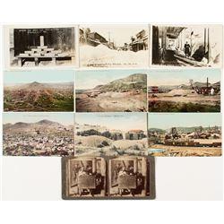 Group of Mining Photographs and Postcards (Nevada & Arizona)