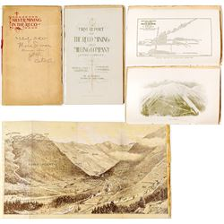1st Report of The Reco Mining & Milling Co. (silver) w/ lithograph & map