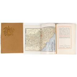 1903 Yaqui Copper Company Annual Report w/ fold-out map (Geo. Vigouroux's Copy)
