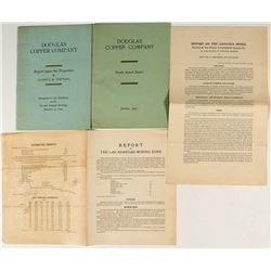 Four Mexican Mining Reports / Prospectuses