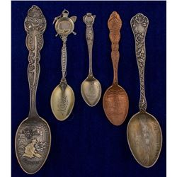 Five Nome Mining Spoons