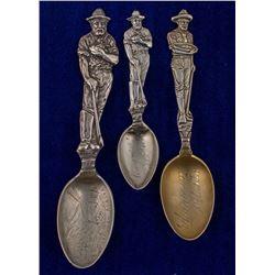Three Skagway Miner Spoons