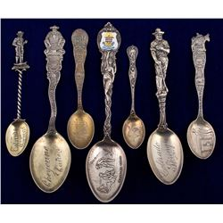 Seven Colorado Spoons: Six Colorado Springs, One Cheyenne Canon