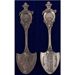 Pair of Denver Spoons