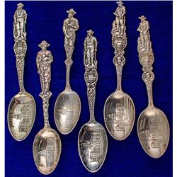 Six State Capital, Standing Miner Spoons (Denver)