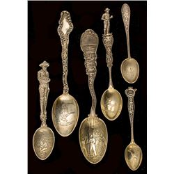 Six Denver Mining Spoons