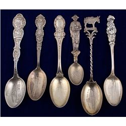 Six Victor Mining Spoons