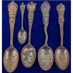 Five Different Colorado Spoons