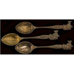 Three Different Salt Mining Spoons from Colorado