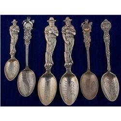 Six Wallace, Idaho Mining Spoons