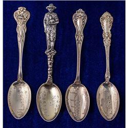 Four Different Kansas Mining Spoons