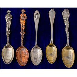 Five Iron & Copper Minnesota Mining Spoons