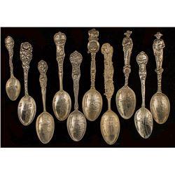 Die Struck Butte, Montana Spoon Collection