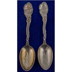 Matched Pair of Butte Spoons