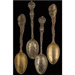 Two Pair of Matched Butte Spoons