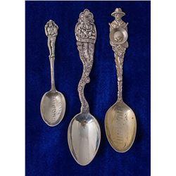 Three Tonopah Mining Spoons