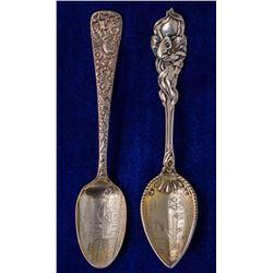 Two Choice Virginia City Mining Spoons