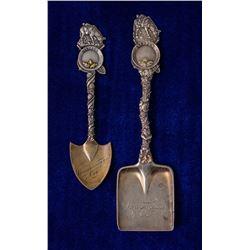 Two Winnemucca Mining Spoons