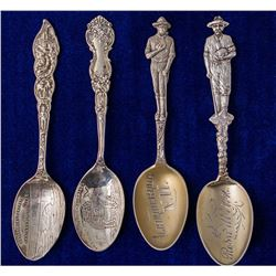 Four New Mexico Mining Spoons