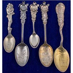 Five Lead, South Dakota Mining Spoons