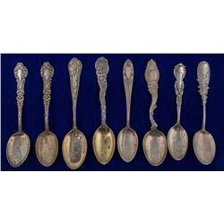 Eight Lead City Mining Spoons