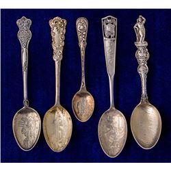 Five Utah Mining Spoons