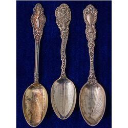 Three Wisconsin Spoons