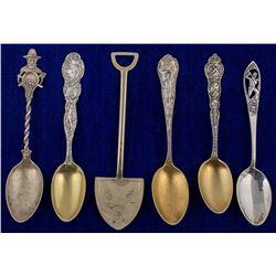 Six Misc. Mining Spoons