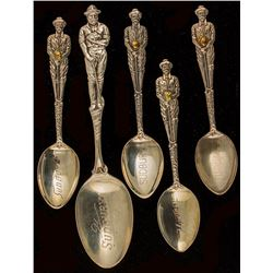 Five Canadian Spoons