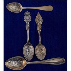 Four Die Struck Dawson Spoons