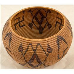 Lillie James Washoe Basket
