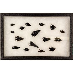 Arrowheads Collected by a Local Reno Family