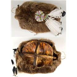 Fur and Beaded Shield