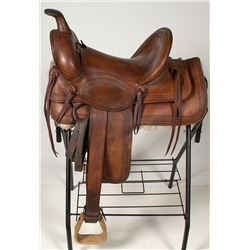 Lichtenberger-Ferguson Collectible Saddle