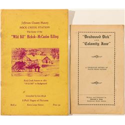 Two Booklets about Wild West Characters (Calamity Jane and Wild Bill)