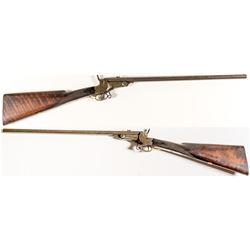 """I.Hollis & Sons, London"" .36 Caliber Rim Fire, Early Single Shot Target Rifle"