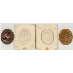 Indian Peace Medal with Molds