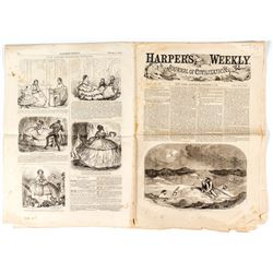 Harper's Weekly with News of the Sinking of the SS Central America