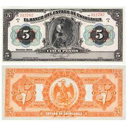 Cinco (5) Pesos Currency