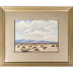 Ralph Arthur Lytle Painting of Desert Landscape
