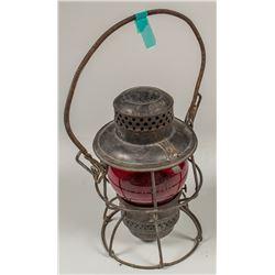 Atchison, Topeka and Santa Fe Railroad Lantern