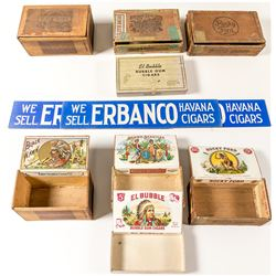 Indian Related Cigar Boxes