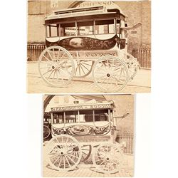 Early Foreign Stagecoach Photographs