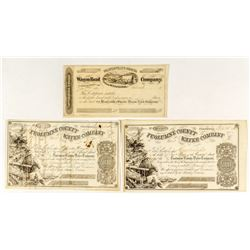 Gold Rush Era Stock Certificates