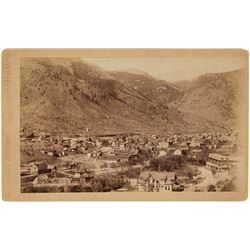 Colorado Springs Cabinet Card - Overview of Town