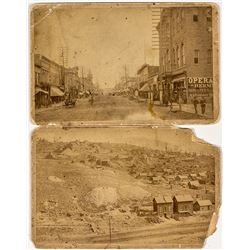 William Henry Jackson Cabinet Cards of Leadville