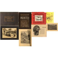 Five Books/Booklets on Manitou