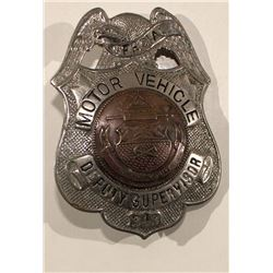 Special Motor Vehicle Badge #348